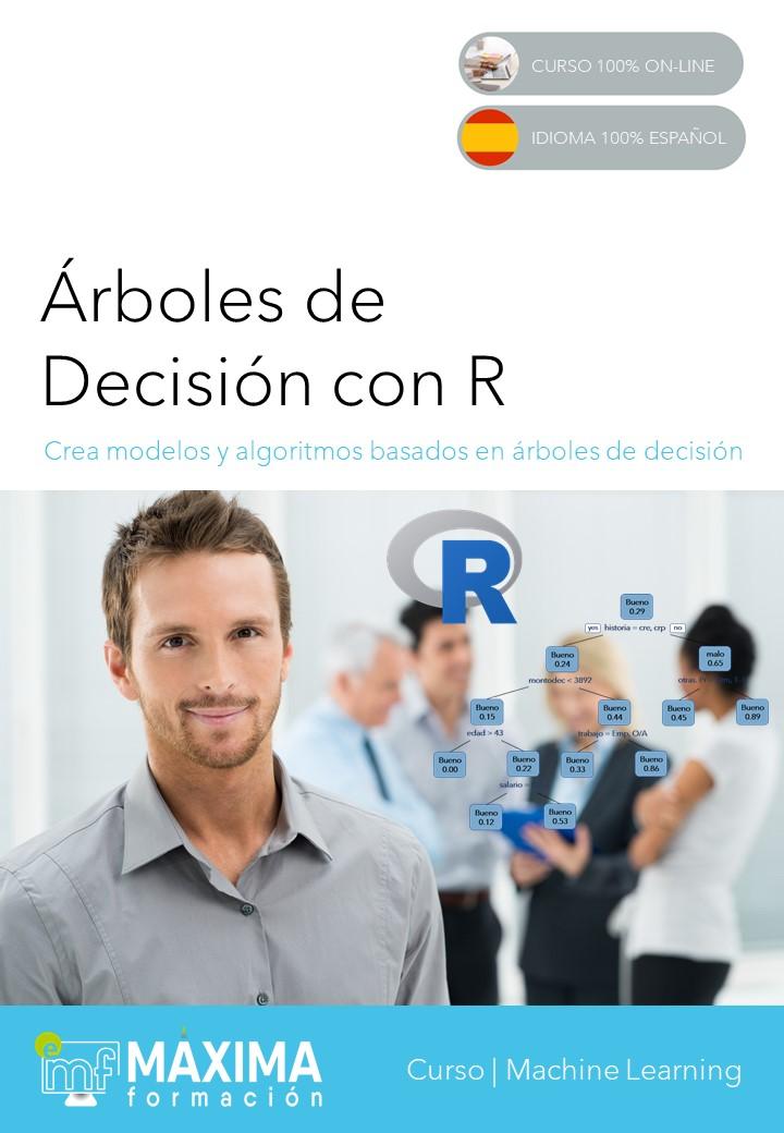 Portada Guía didáctica del Curso de árboles de decisión con R