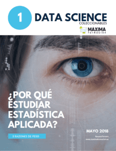 Por qué estudiar Estadística Aplicada. Data Science R Software