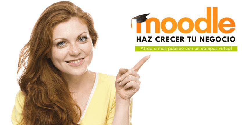 Haz crecer tu negocio con Moodle 3.5