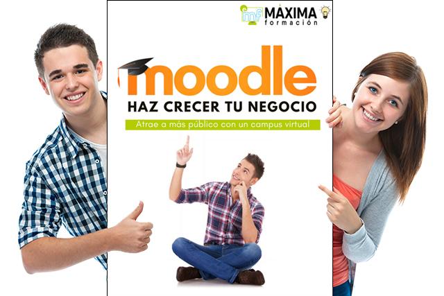 Haz crecer tu negocio con Moodle