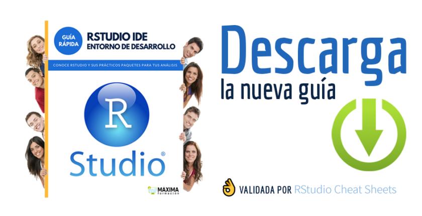 Guía rápida Entorno R Studio Gratis
