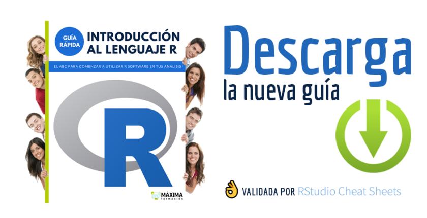 Guía rápida Introducción al lenguaje R Gratis