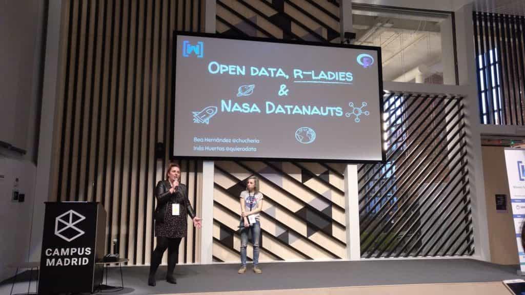 Ponencia NASA y Rladies 2018 - Inés Huertas