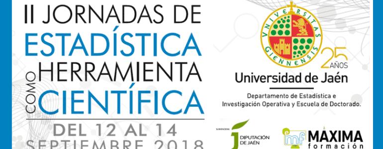 II Jornadas de Estadística como Herramienta Científica