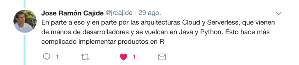 Twitter R vs Pyhton 2018 10