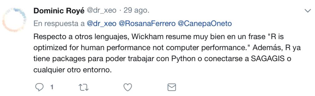Twitter R vs Pyhton 2018 12