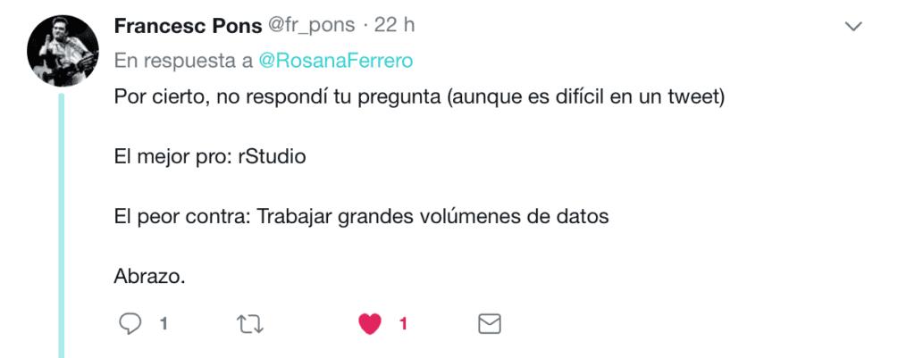 Twitter R vs Pyhton 2018 13