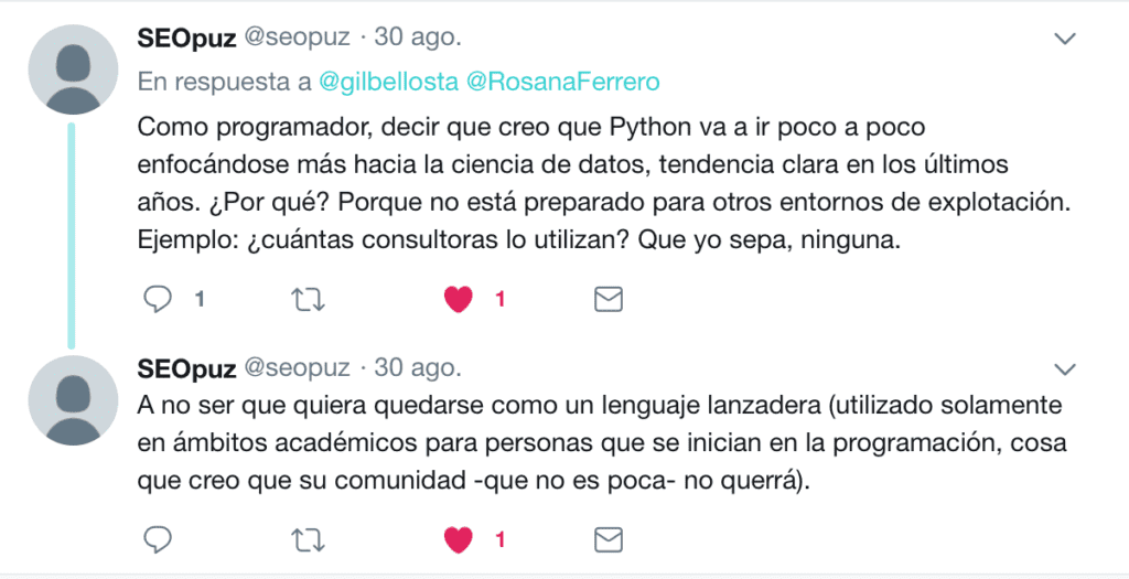 Twitter R vs Pyhton 2018 6