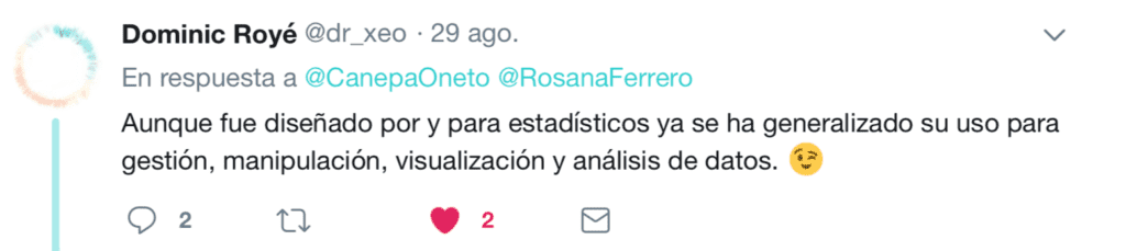 Twitter R vs Pyhton 2018 7