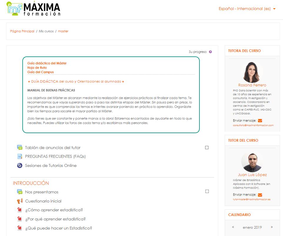 campus online máxima formacion