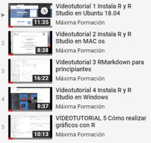 videotutoriales estadistica