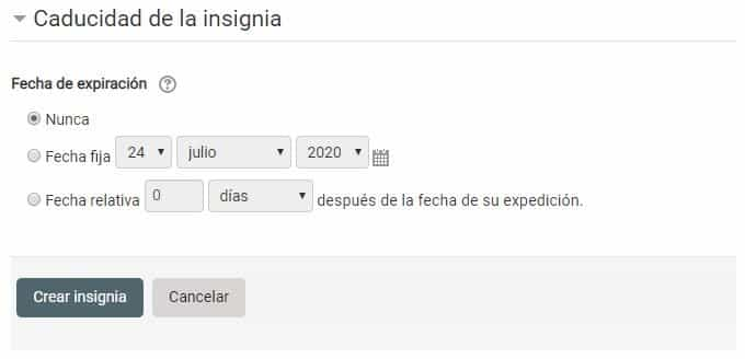 Insignias Moodle 5