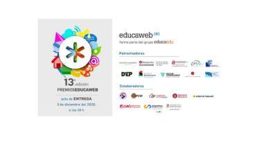 Máxima Formación patrocina los Premios Educaweb 2020