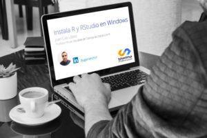 Instala R y RStudio en Windows