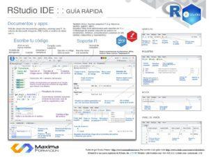Entorno de desarrollo RStudio IDE