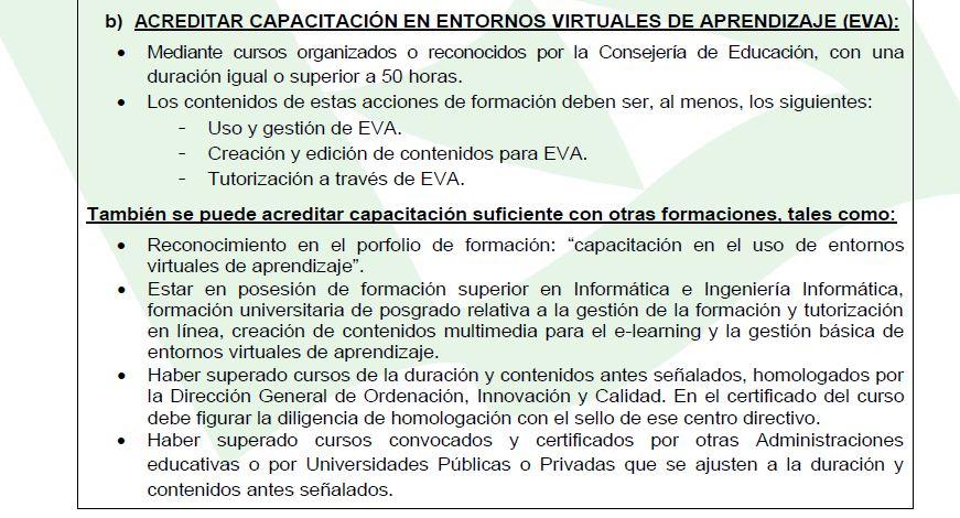 Requisitos para teleformadores en Canarias2